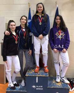 Trois médailles en début de saison pour l'Esquadra