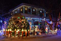 Val-Bélair – Une maison transformée pour Noël