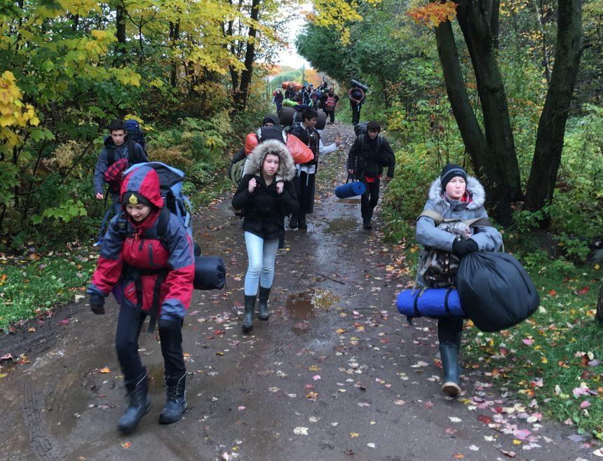 Des scouts de Val-Bélair dans le froid