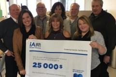 Une surprise de 25 000$ pour Communautés solidaires