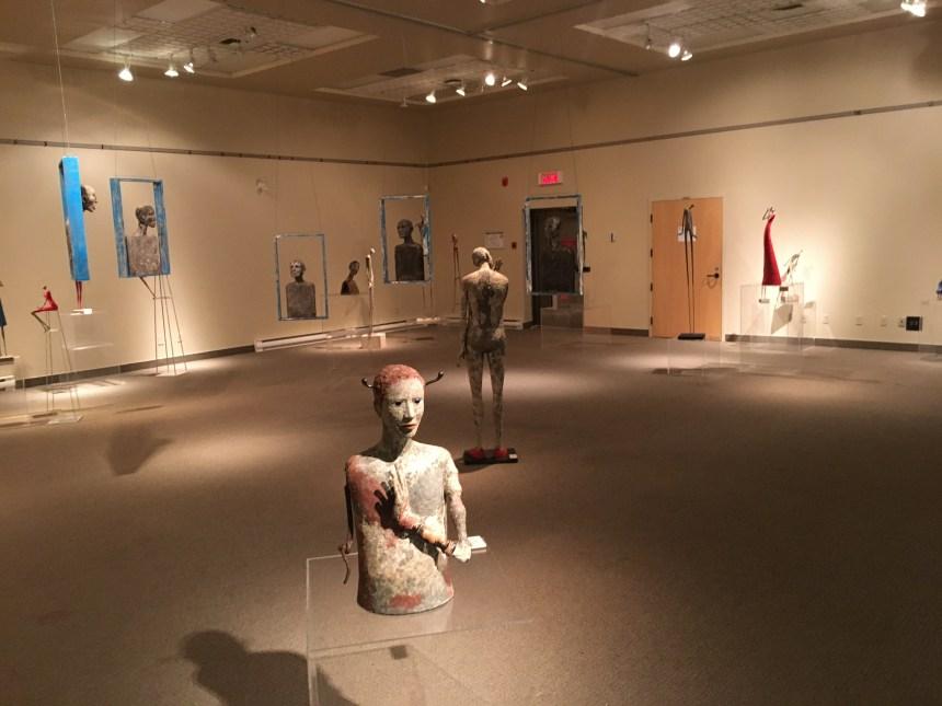 Dernière exposition à la salle Jean Paul-Lemieux