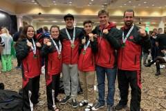 Des médailles pour Karaté Charlesbourg au championnat du monde