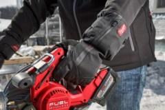 Gants chauffants rechargeables pour le chantier