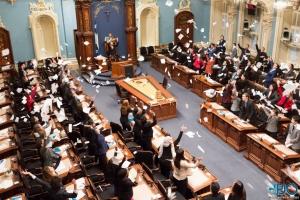 Début de la 69e législature du Parlement jeunesse du Québec