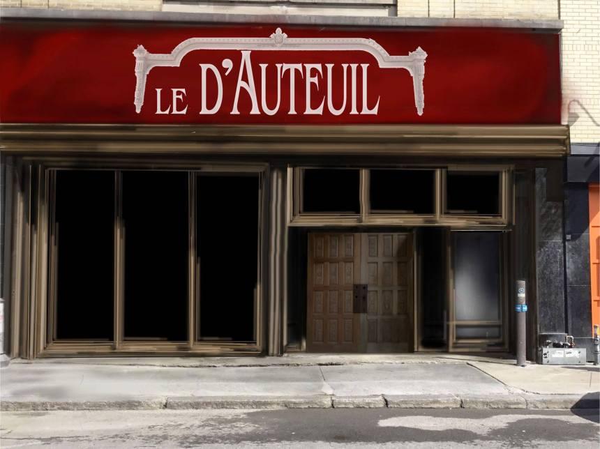 Le D'Auteuil renaît à la place du défunt Cercle