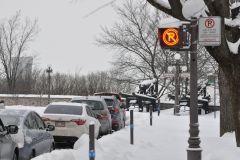Déneigement: Stationnement interdit dans la Cité-Limoilou aujourd'hui