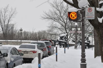 Stationnement interdit ce lundi 21 janvier