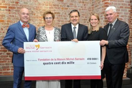 Michel-Sarrazin – Un pas de plus pour la poursuite de sa mission