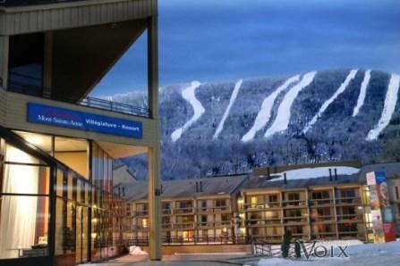 Le Mont-Sainte-Anne interdit l'accès à la montagne