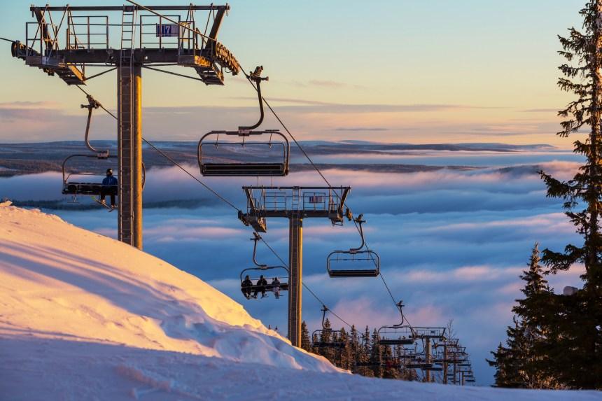 La technologie au secours du ski