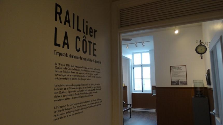 Exposition Aux Trois Couvents : Jadis, le chemin de fer