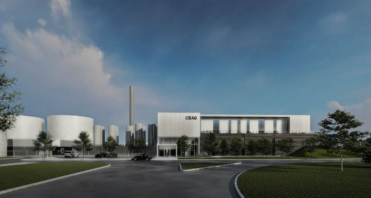 Du gaz naturel issu du centre de biométhanisation dès 2022