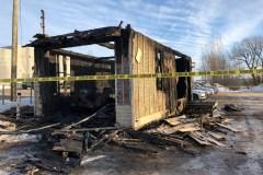 Incendie dans un garage du boulevard Sainte-Anne