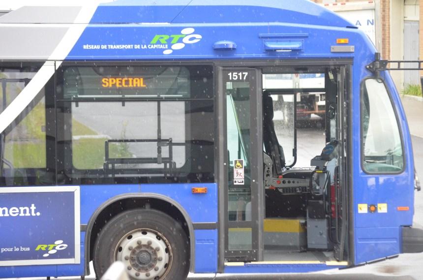 La Ville de Québec s'entend avec la Société de transport