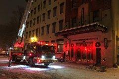 L'Hôtel Clarendon victime d'un incendie