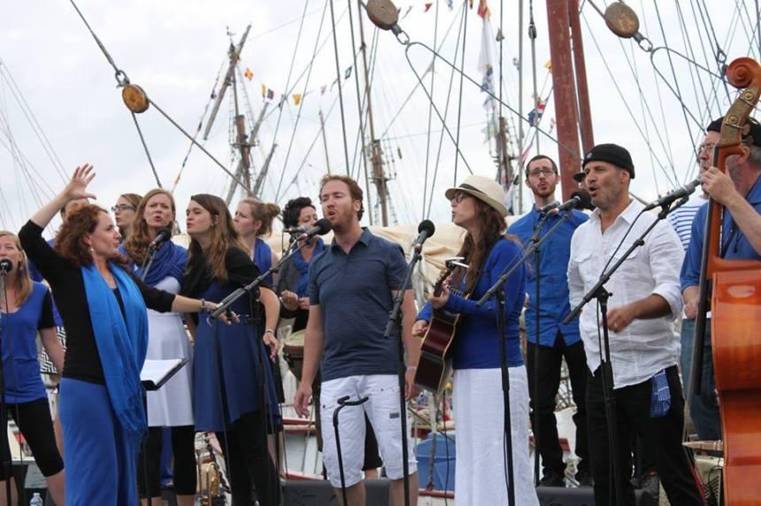 La Gamik vocale au Festival du Chant de Marin de Paimpol en Bretagne