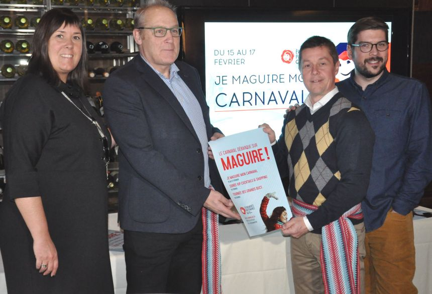 Maguire s'anime pour offrir une fin de semaine carnavalesque