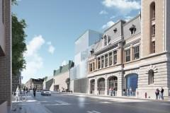 Théâtre Les Gros Becs : dévoilement du projet de la caserne Dalhousie