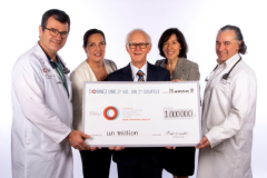 Don de 1M$ à la Fondation IUCPQ