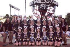 Cheerleading – Une 2e place mondiale pour l'Académie Saint-Louis