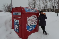 École Samuel-De Champlain: donner du linge usagé pour nourrir les jeunes
