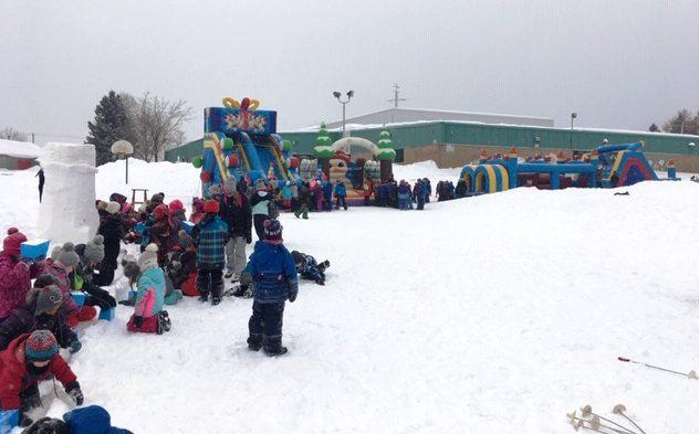 Carnaval réussi à l'école La Chanterelle