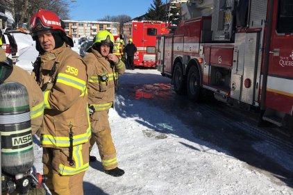 Incendie dans un multilogements