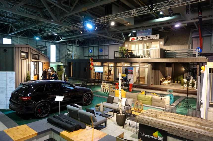 Coup d'envoi du 35e salon Expo habitat Québec
