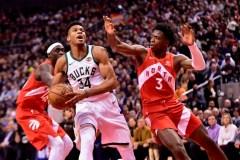 Les Bucks quittent Toronto avec le premier rang de l'Est grâce à un gain de 105-92