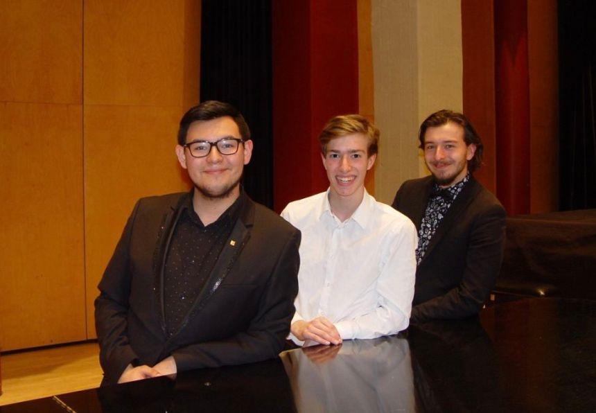 Alexis Vollant remporte le Prix d'expression musicale du Cégep de Sainte-Foy