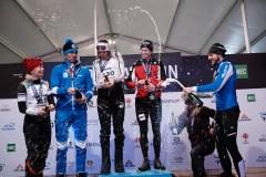 Le Canadien Maxime Leboeuf et la Suédoise Lovisa Modig champions du triathlon d'hiver