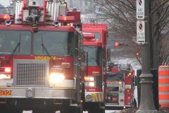 Incendie dans un immeuble de Charlesbourg