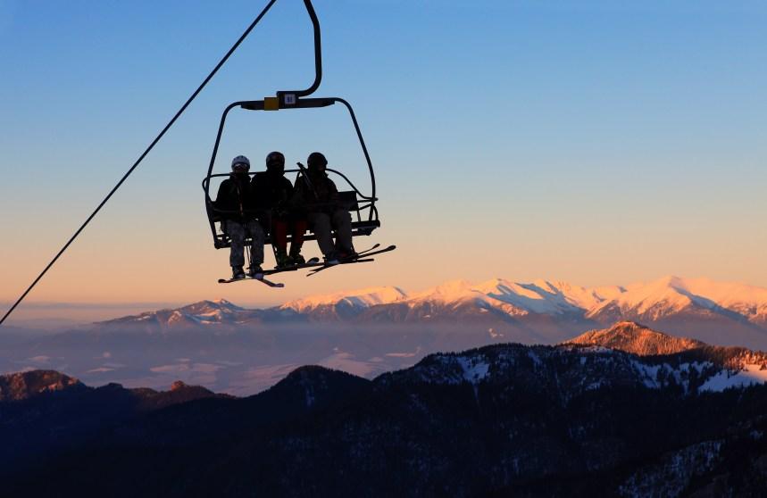 Relâche : Activité de ski de soirée en famille