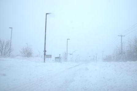 Encore de la neige!