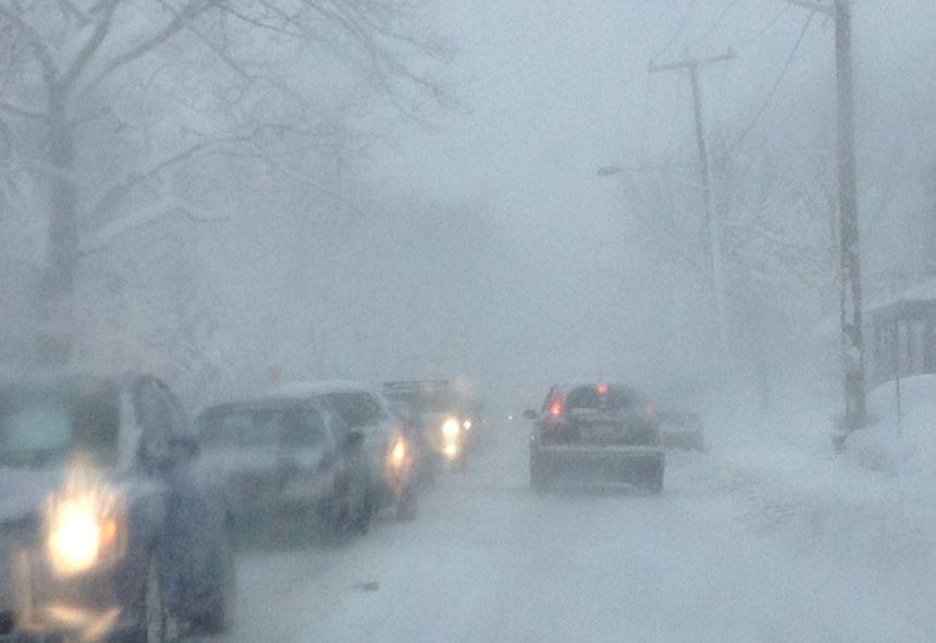 Veille de bourrasques de neige à Québec