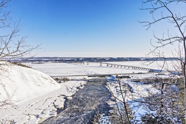 Le pont de l'île d'Orléans aux soins palliatifs