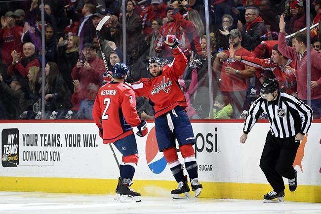 Kuznetsov propulse les Capitals sur le chemin de la victoire face aux Flames