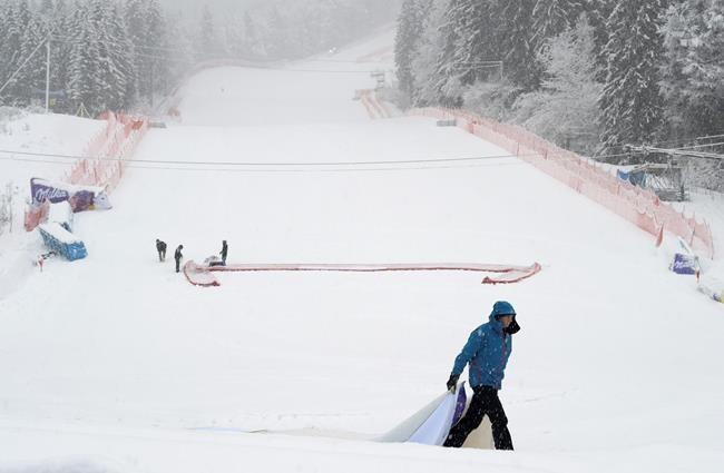 Le dernier slalom géant avec les Mondiaux est annulé à cause d'une tempête