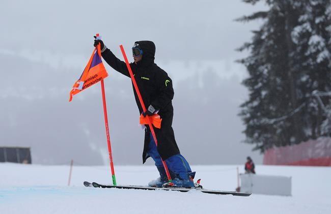 La neige entraîne l'annulation de la descente masculine à Garmisch