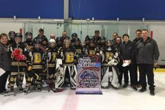 Des jeunes hockeyeurs avec des valeurs exemplaires