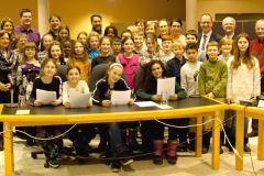 Mobilisation écologique des élèves de l'école Saint-Louis-de-France
