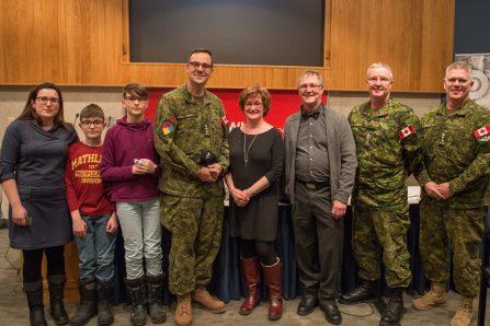 Base militaire de Gagetown au Nouveau-Brunswick – Vincent Giroux, de Neufchâtel, promu colonel