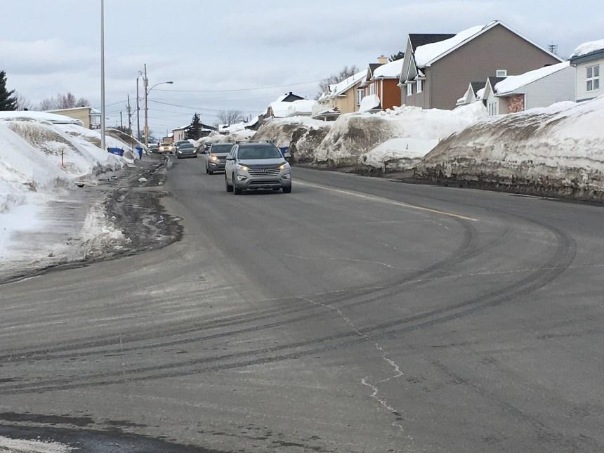 Projet d'élargissement du boulevard Raymond