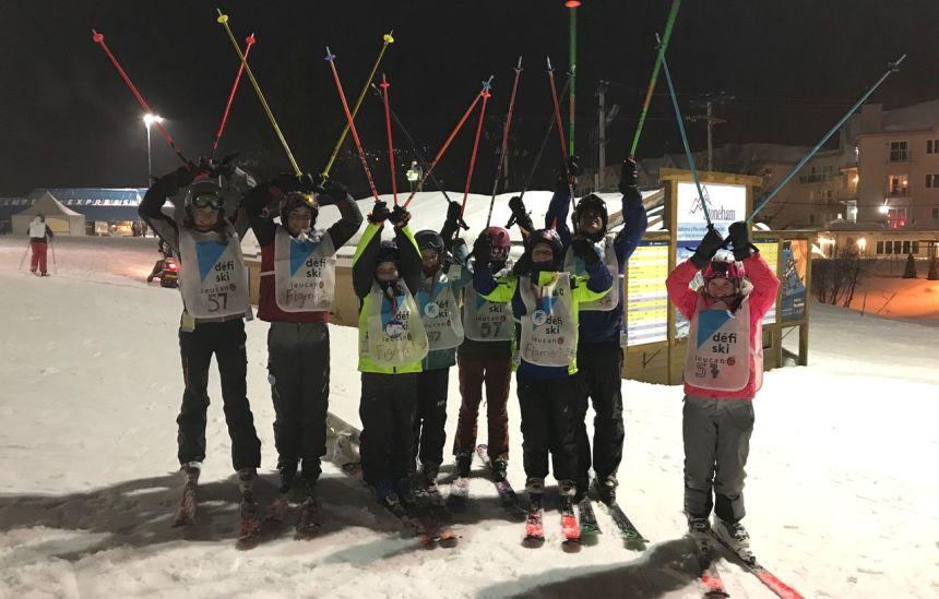 Succès du Défi ski Leucan pour aider les enfants à remonter la pente