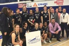 Championnat canadien de basketball collégial féminin: les Dynamiques ont manqué de temps