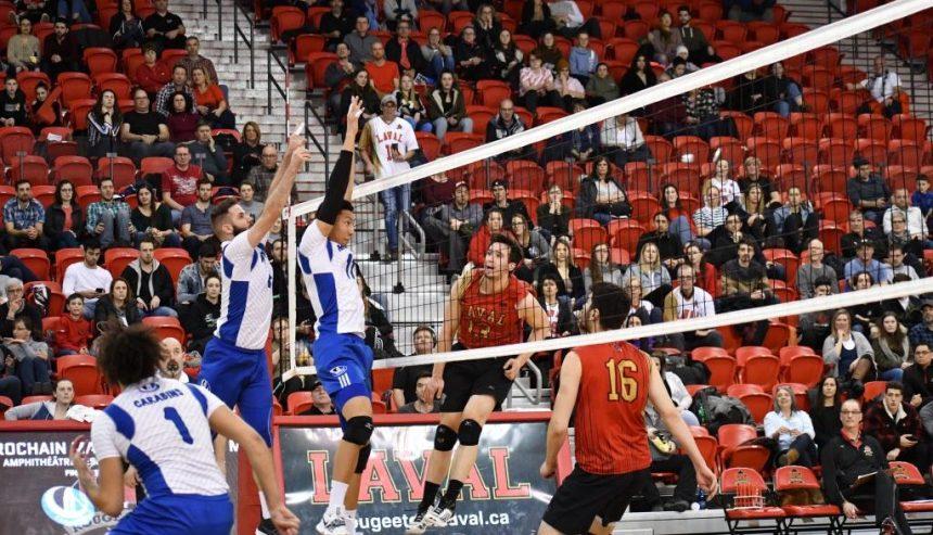 Finale RSEQ de volleyball universitaire – Laval l'emporte de justesse