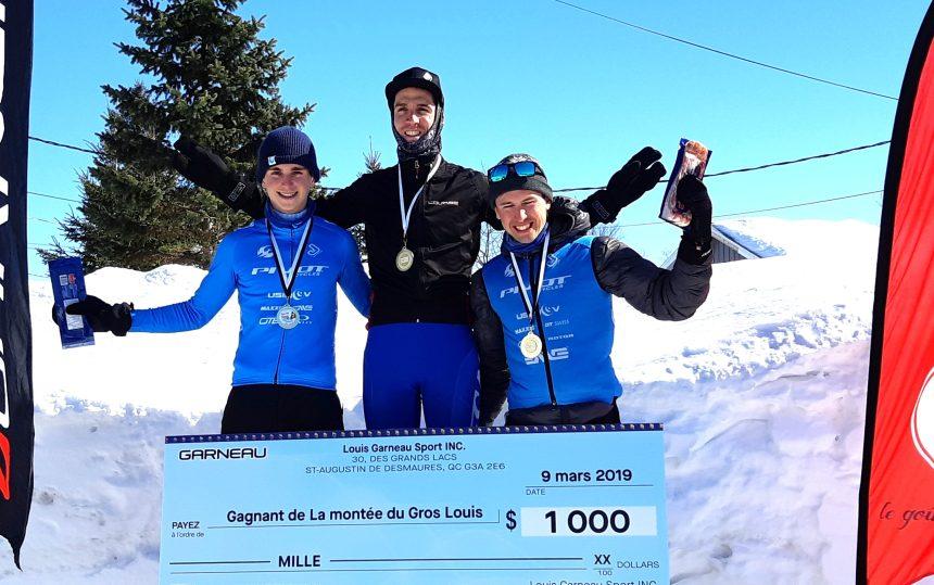 La montée du Gros Louis – Jean-Michel Lachance remporte la première édition