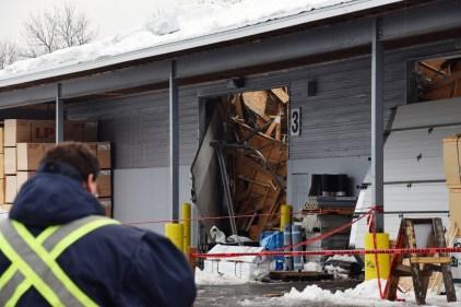 Un autre toit s'effondre à Québec