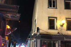 Le Café Buade fragilisé par un incendie