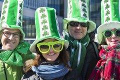 Défilé de la Saint-Patrick : Le vert à l'honneur pour une 10e année